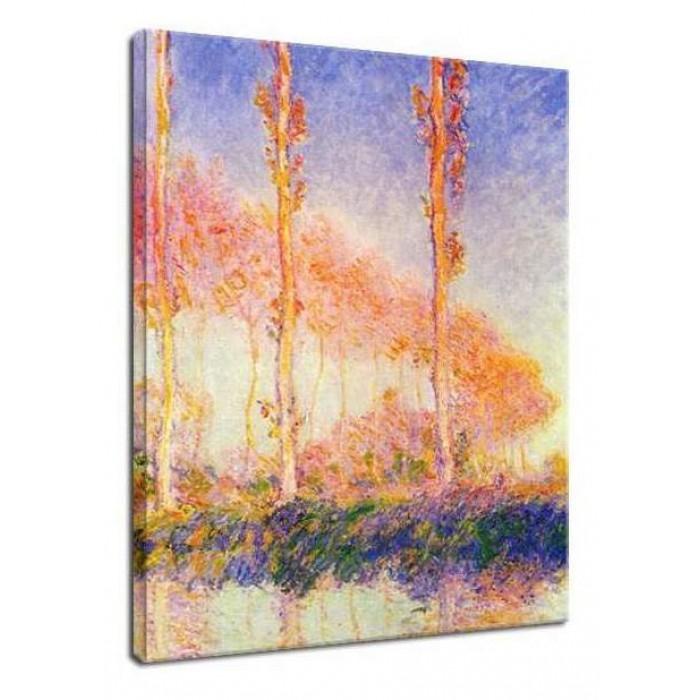 Claude Monet Jesienne Topole Druk Obrazów Dekoracje