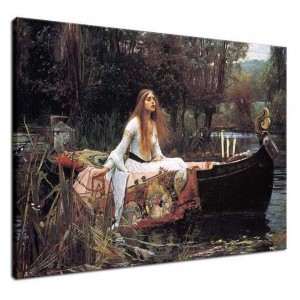 John William Waterhouse - Pani na Shalott