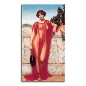 John William Godward - Atena