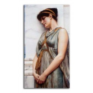 John William Godward - Pompejka