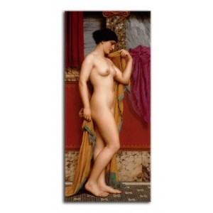 John William Godward - W tepidarium