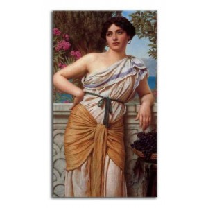 John William Godward - Zaduma