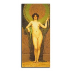 John William Godward - Studium Campaspe
