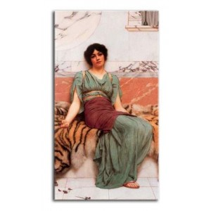 John William Godward - Słodkie sny