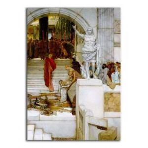 Lawrence Alma-Tadema - Po audiencji