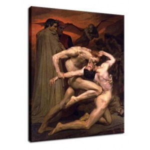 William-Adolphe Bouguereau - Dante i Wergiliusz w piekle