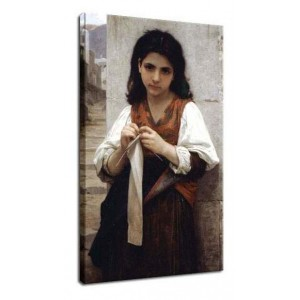 William-Adolphe Bouguereau - Szwaczka
