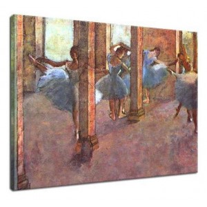 Edgar Degas - Tancerki we foyer